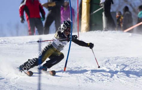 Freshman Alex Turner excels on the alpine ski team