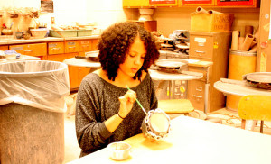 Ceramics students contribute to community through Empty Bowls