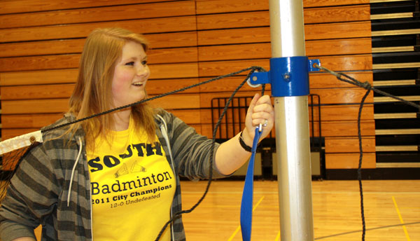 Badminton is more than just a backyard sport at South