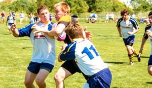 South rugby team defies violent sterotypes