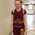 Miranda Klemz shows off her Minnesota pride with a University of Minnesota outfit for spirit week. Many students and teachers are participating in the dress up days this week. Themes this year include backwards day, cartoon day, Minnesota pride day, neon day, and Tiger pride day.