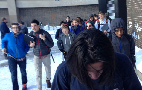 Small fire forces students and staff out of building in freezing temperatures