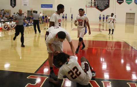 Boys basketball team ends season with a sections game loss
