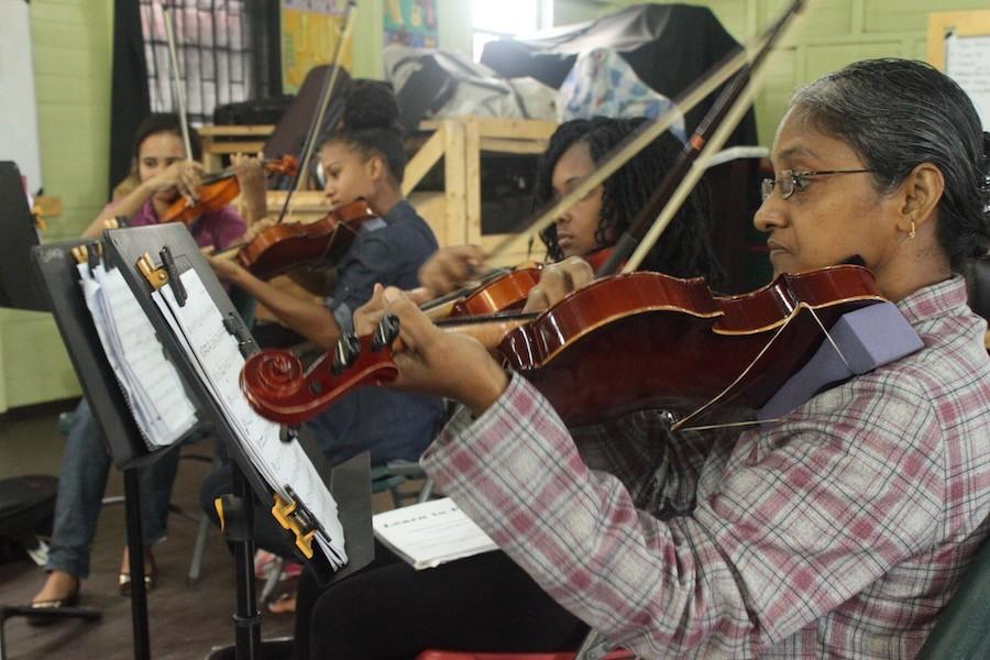 Band director opens music school in Guyana, South America