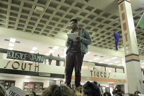 Students sit-in for justice for Jamar