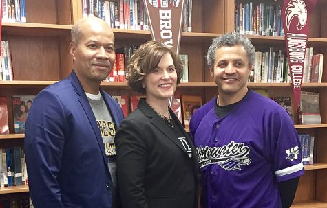 Mayor and interim superintendent visit college bound seniors
