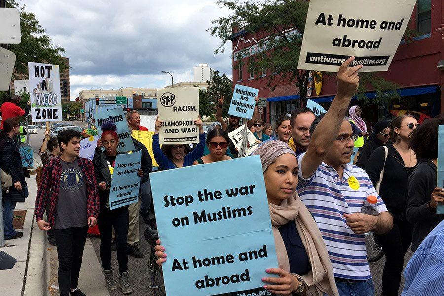 After shock of election, Muslim community stays strong