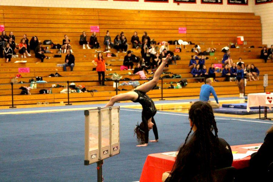 Flips and turns, and ups and downs: South gymnastics finishes their season strong