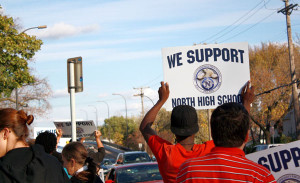Community members respond to proposal to close North High