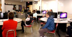 Career/Tech Department unveils new virtual teaching system