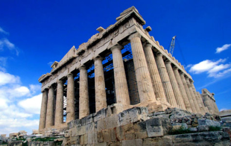 The Parthenon in Athens, Greece. Courtesy of Tormod