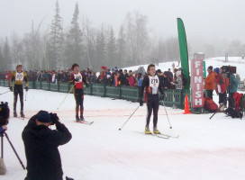 Nordic skiers compete at state competition