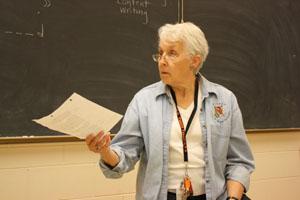 Carol Horswill reaches 50 year milestone