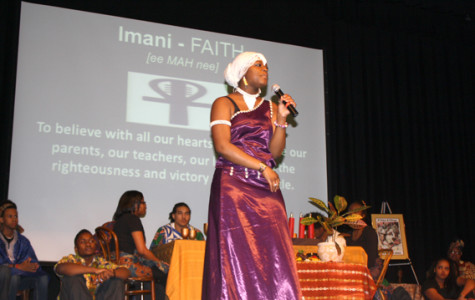 Umoja celebrate Black History Month with annual auditorium