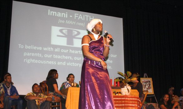 Umoja celebrate Black History Month with annual auditorium