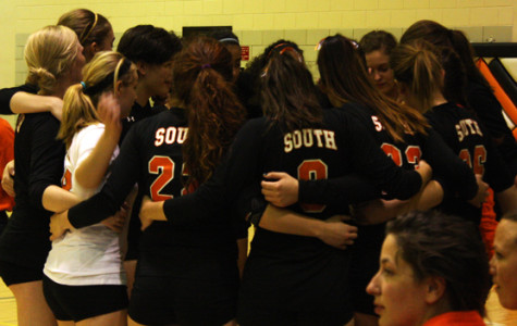 South plays Southwest volleyball to cheers