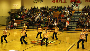 Athletes honored at Fall Sports Pepfest
