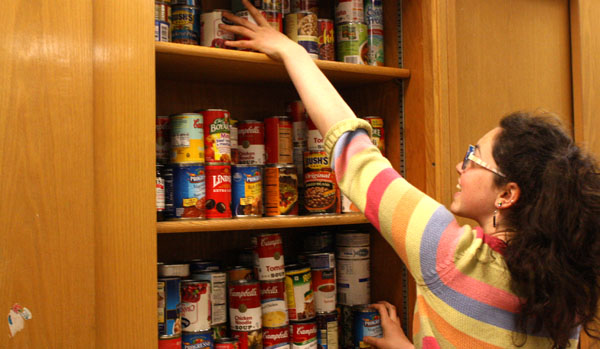 Food shelf started at South by students, for students