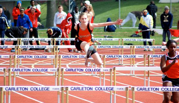 Track team rebuilds after loss of players