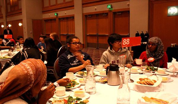 South START students discuss race at the Convention Center in Minneapolis