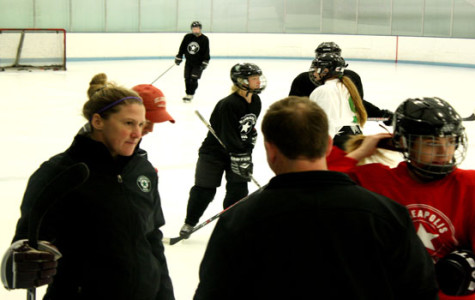 New Girls Hockey Coach Brings Focus and Energy to Team