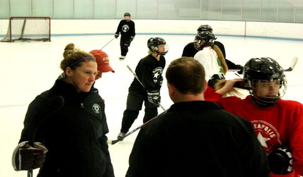 Girls Nova hockey team's new coach  Sarma Osman believes that,