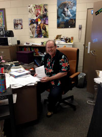 With  AP tests just around the corner, AP Human Geography teacher Richard Nohel is