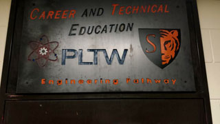 Project Lead The Way Engineering Program struggles to get females to join the program. Photo: Kaitlyn White