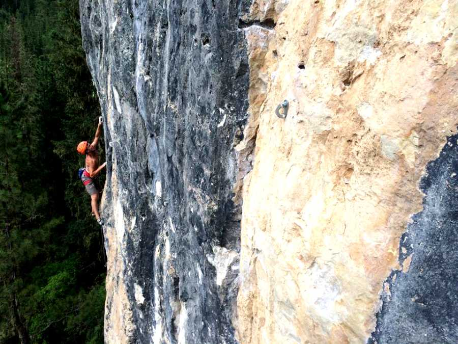 """""""I believe the warm, positive and encouraging nature of the sport and its culture is very alluring to those who have had a small taste."""" Tyler Hoffart said about his experience with rock climbing."""