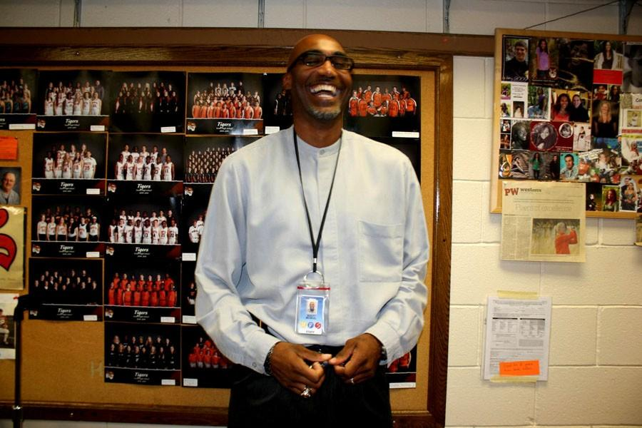 """New Athletic Director Brett McNeal feels strongly about the student-athlete relationship.  """"The community and students really embrace sports as a partnership with the athletes and the students,"""" he described. """"They go hand and hand...it's a package."""""""