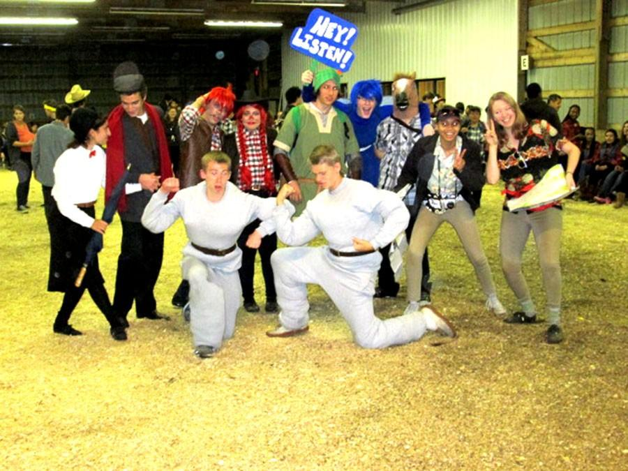 The winners of the 2014 Costume Contest
