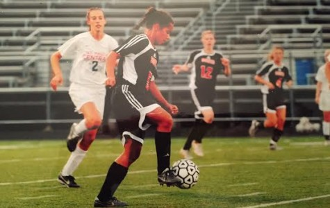 Jillian Stockmo playing soccer in 2009. She's now breathing life into the South soccer program.