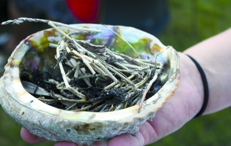 Smudging helps students stay on track