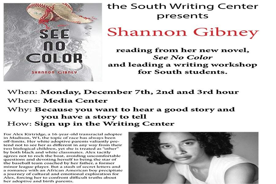 We'll see you at Shannon Gibney's writing workshop and book talk on Monday December 7th!