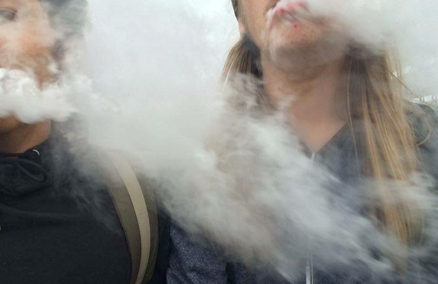 Vaping has become popularized in the South community, especially because of it's availability to minors.