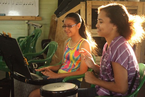 Currently, 120 students who range in age from 11-years-old to 73-years-old study an instrument at GLMA, including keyboard, guitar, voice, brass, percussion, and violin. (Photo courtesy of Eric Sayre)
