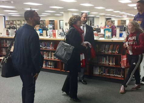 The mayor leaves with her staff. She attended Wayzata High School, then Bryn Mawr College for her undergraduate degree and University of Wisconsin Madison for graduate school.