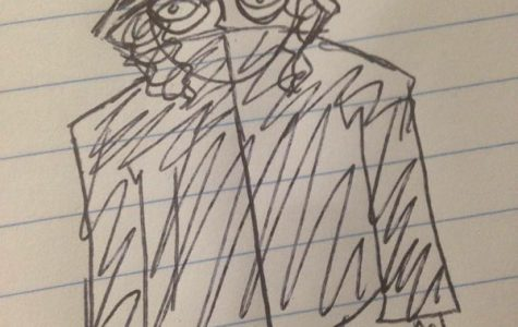 Elise Gumm, senior, uses doodling as a way to focus and clam herself. She says,