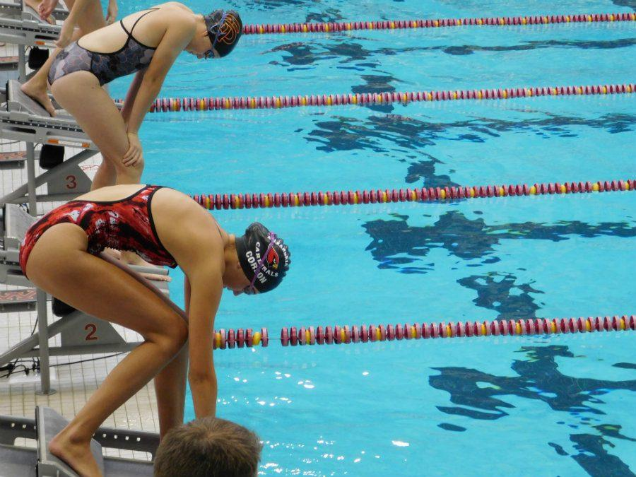 Photo Credit: Soline Van de Moortele South high swimmers competed at the