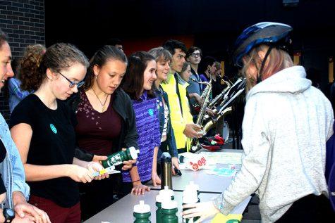 South bikes towards better enviroment on Bike to School Day