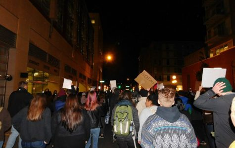 St Paul protest against Trump reaches South students
