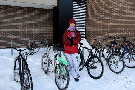 South bikers won't let a little cold stop them