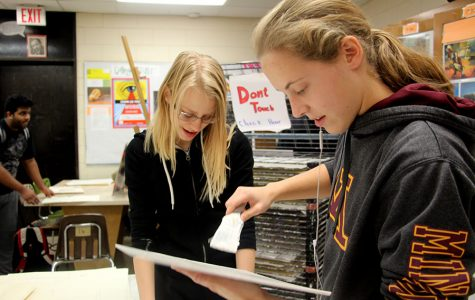 """New Advanced Placement art classes will be offered at South next year. This will give new opportunity for South students interested in pursuing an art career. """"It'll be better, and more inclusive of what people like to do."""" sophomore Claire Bentfield said. """"I'm excited to sign up."""" Photo: Luca Raffo-Simoes"""