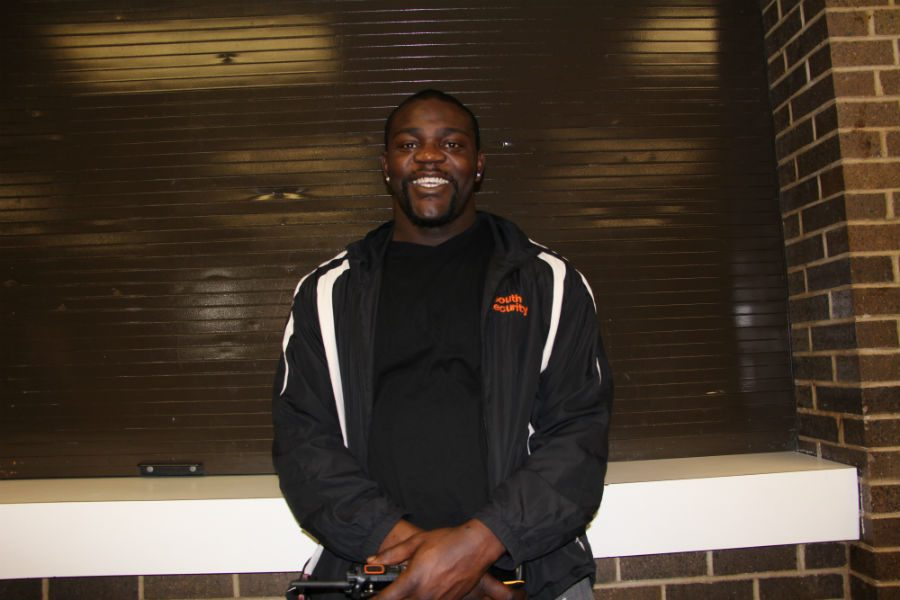 Look familiar? You may have noticed Mckinley, South High security guard, around the halls. He might have even asked you for a pass, or told you to get to class. Little did you know you were in the presence of a former NFL defensive lineman.