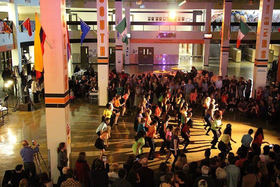 The South dancers tear up the floor at Swing Night.