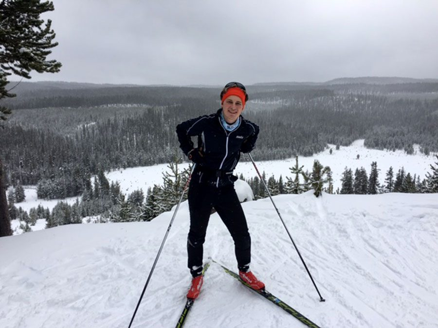 Senior Sam Maret has been fortunate enough to be involved in both South High's nordic ski team, but also LNR (Loppet Nordic racing): a Minneapolis ski club known for it's fast racing. Hopefully these groups have provided Maret with the talent it takes to make it at a professional level.  Photo courtesy of Sam Maret