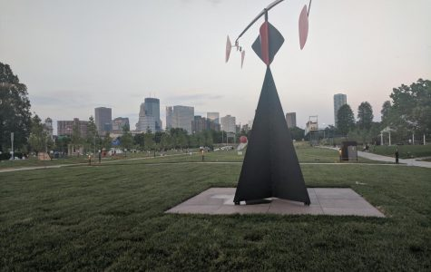 """Above is the area where Scaffold once towered, a reminder of how one man's ignorance can be all it takes to perpetualize oppression and cause an uproar. The """"art"""" piece was later replaced by the sculpture seen in the picture."""