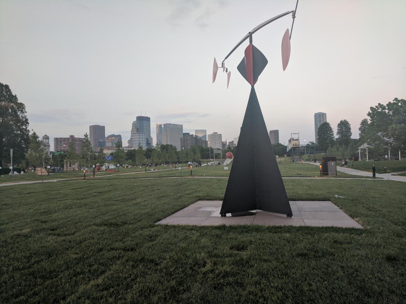 "Above is the area where Scaffold once towered, a reminder of how one man's ignorance can be all it takes to perpetualize oppression and cause an uproar. The ""art"" piece was later replaced by the sculpture seen in the picture."