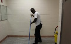 Custodians receive mixed treatment from students and district