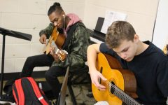 'Rock stars for a day': South guitar students make relief album for natural disasters